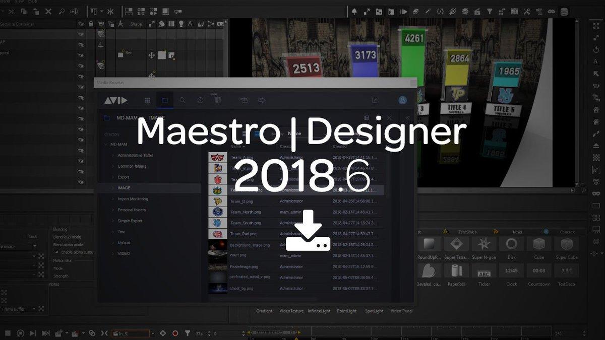 Avid Maestro Designer