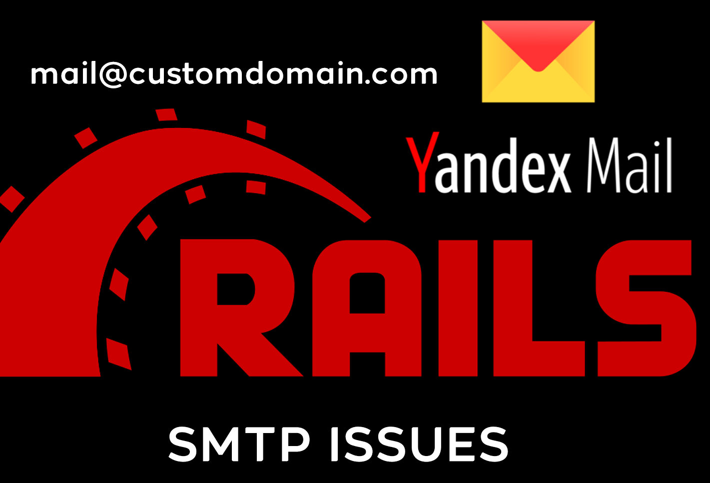 rails yandex smtp issue